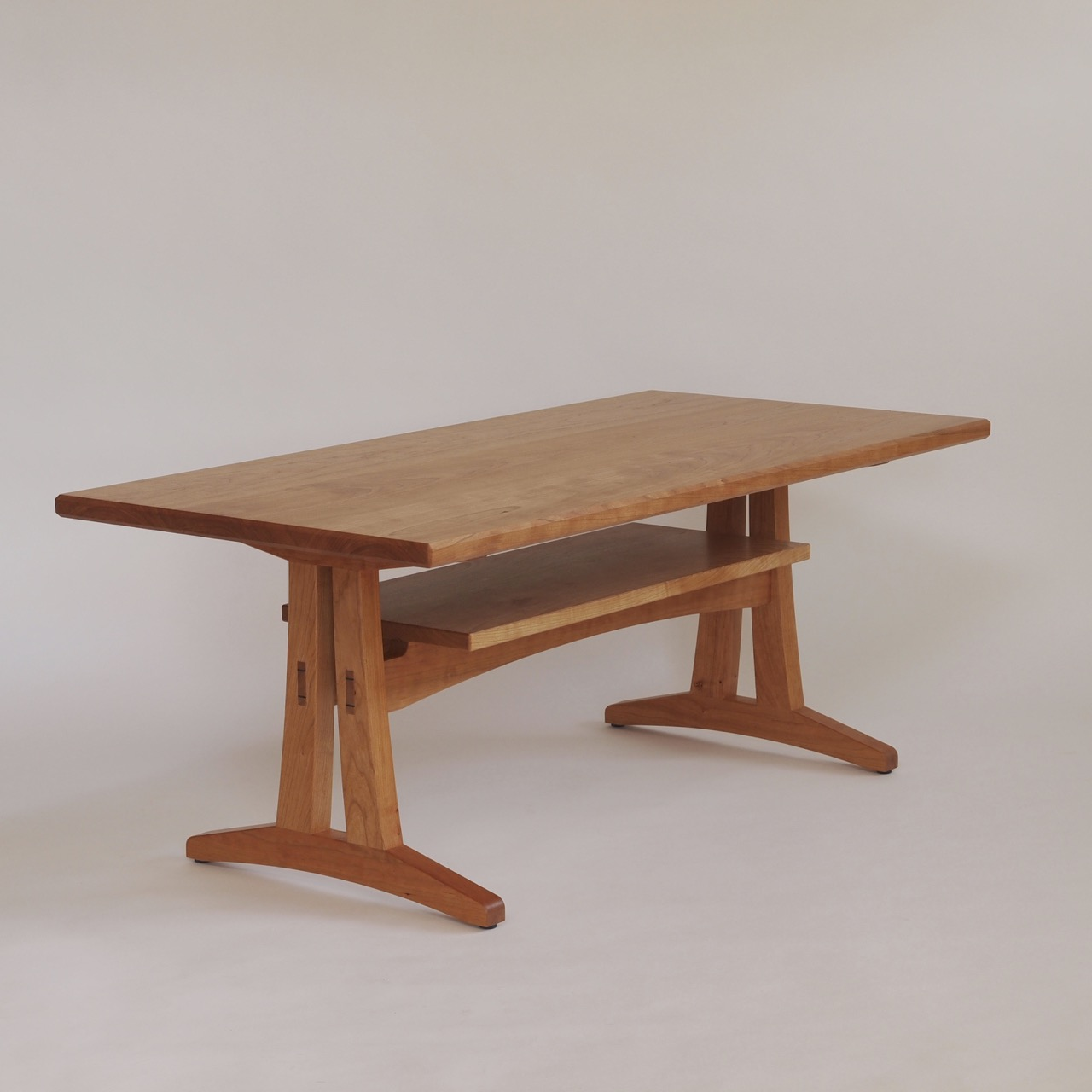 Trestle Low Table